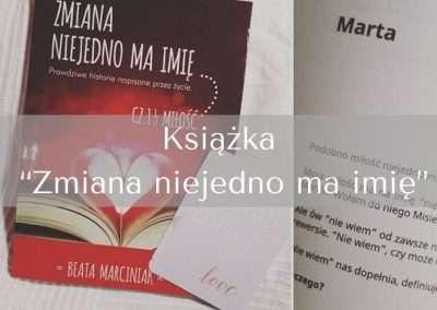 """Książka """"Zmiana niejedno ma imię"""""""