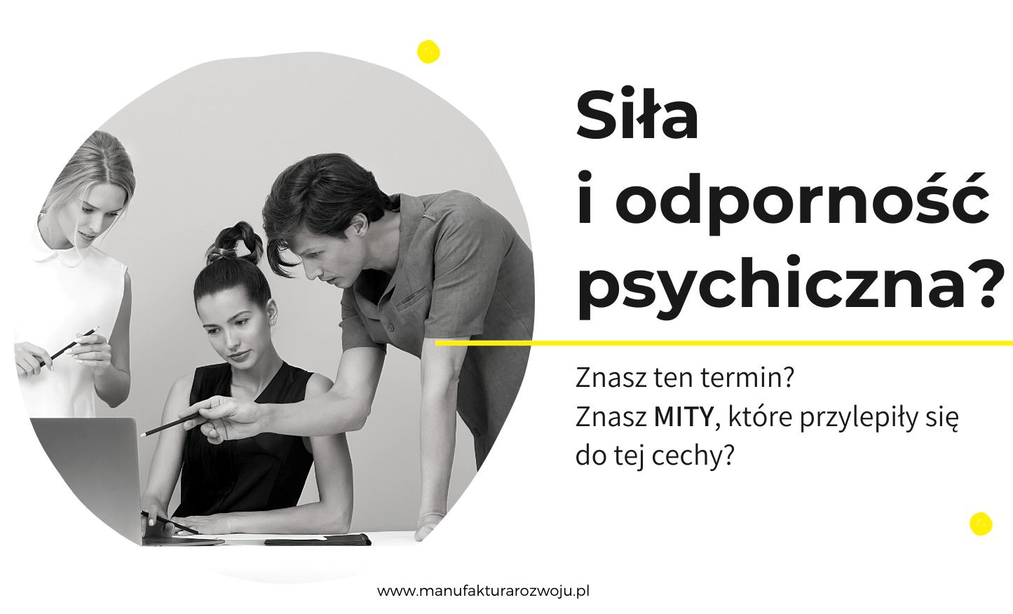 Siła iodporność psychiczna