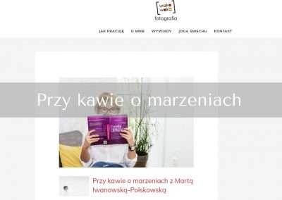 Przy kawie omarzeniach zMartą Iwanowską-Polskowską