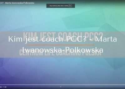 Kim jest coach PCC? – Marta Iwanowska-Polkowska