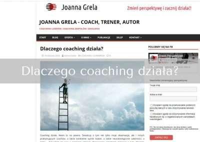 Dlaczego coaching działa?